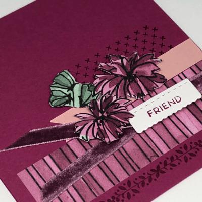 Stitched All Around CASE card