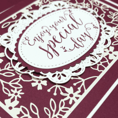Stitched All Around Special Day!