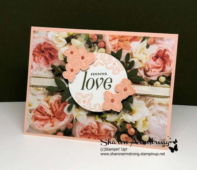 petal promenade designer series paper card ideas