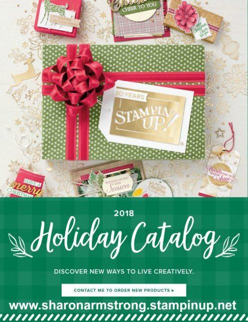 stampin up holiday catalog 2018