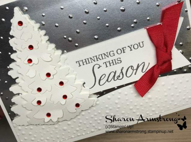 die cut tips sharon armstrong new holiday card