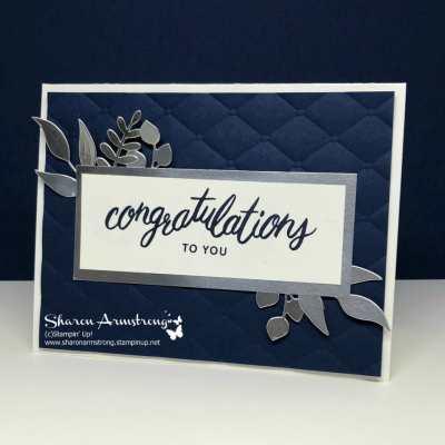 Congratulations Card: Friendly Expressions