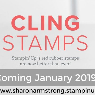 New Cling Mount Stamps Coming!