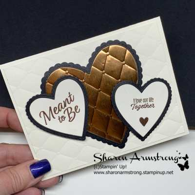 Fabulous Anniversary Card | Stampin' Up Meant to Be