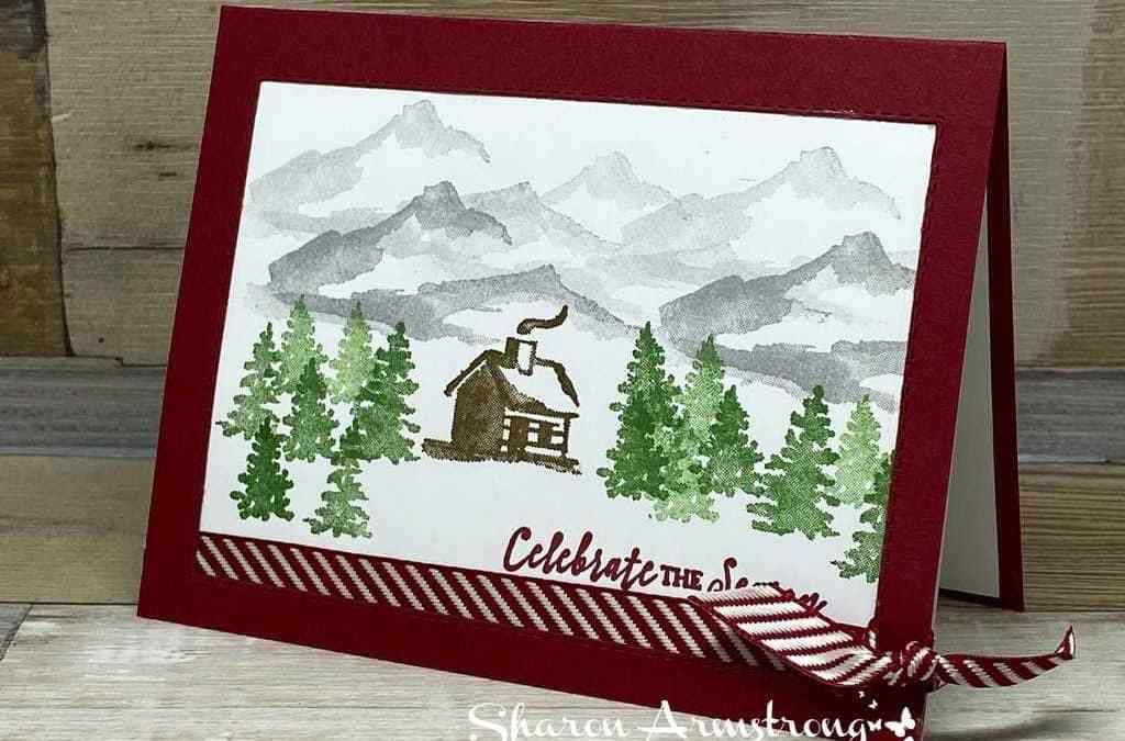 How to Make a Mantel-Worthy Framed Christmas Card