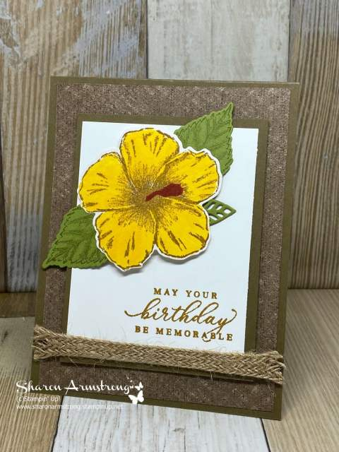 DIY-Birthday-Card-with-Large-Yellow-Flower