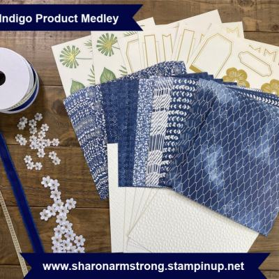 Boho Indigo Card Making Class | Free with Minimum Purchase