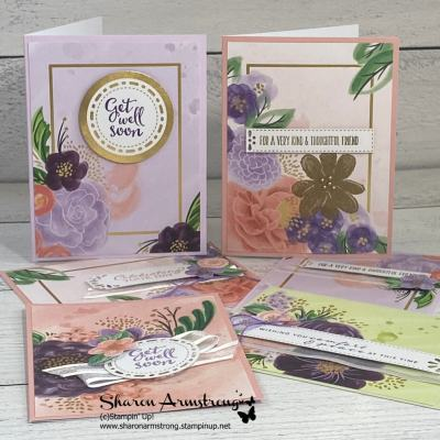 Gorgeous Posies Card Kit Makes a Winning Gift Idea