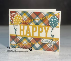 handmade-birthday-cards-with-plaid-designer-paper-and-die-cut-balloons