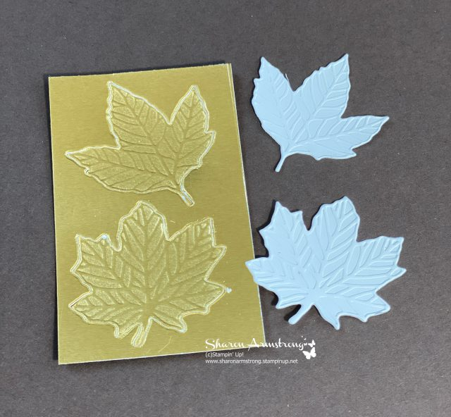 how-to-emboss-foil-paper-2-layers-foil-cardstock-and-white-cardstock-on-top-gives-embossed-foil-look