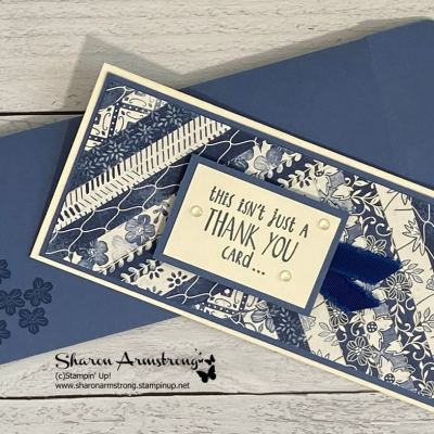 AChicSlim Line CardYou'llLoveToLearnHow To Make
