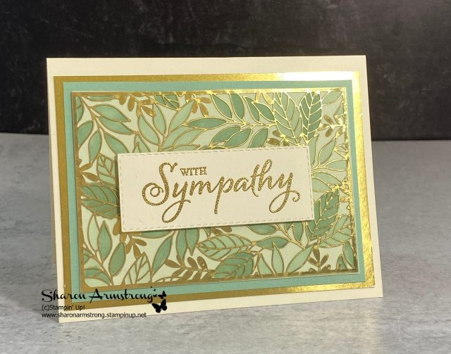 make-beautiful-cards-quickly-handmade-sympathy-card-with-gold-foil-paper