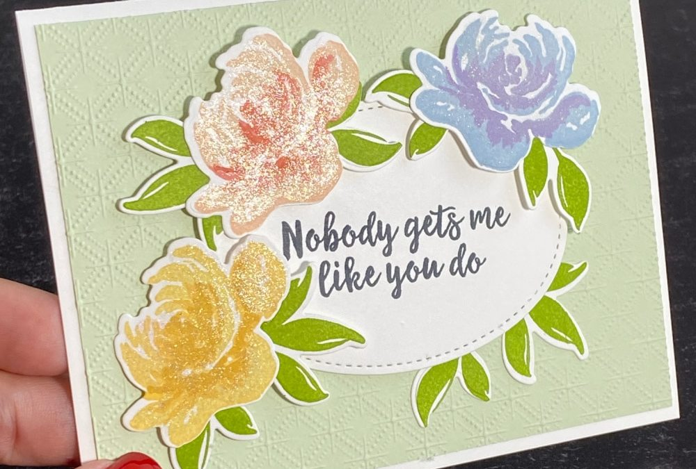 Make an Awesome Card for a Friend That's Beautiful