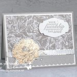 Make your charming handmade card extra special with a die that cuts a scallop and embosses a fun pattern at the same time.