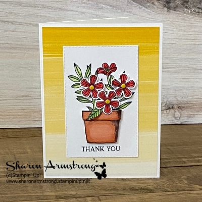 Make a Thank You Card With Beautiful Floral Layers