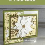 The Best Poinsettia Fun Fold Card You Can Make This Season