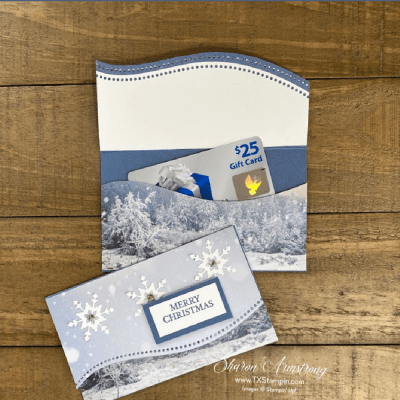 The Best Gift Card Holder for Christmas You Can Make