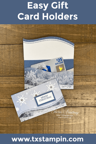 A Gift Card Holder for Christmas You Can Make in Easy Steps