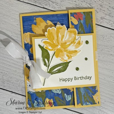 A Double Flap Fun Fold Card That's A Big Hit