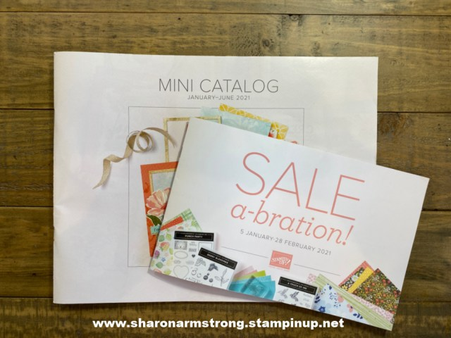New Stampin' Up! products are here in the Mini Catalog and Sale-A-Bration 2021 kicks off.