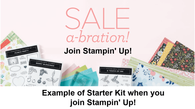 Join TxStampin during Stampin' Up! Sale-a-Bration and get some free craft supplies.