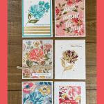How to Apply Gold Leaf Flakes to Make an Amazing Greeting Card