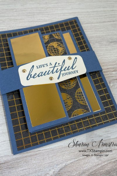 Accordion Fold Masculine Cards You Can Make in Easy & Stylish Steps