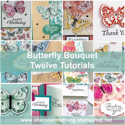 Butterfly Cards Galore! The 'Butterfly Brilliance' Collection Makes Stunning Cards