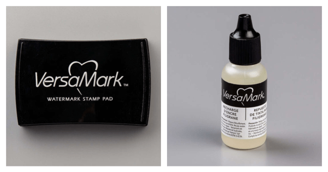 VersaMark is the ink you need to use for heat embossing.