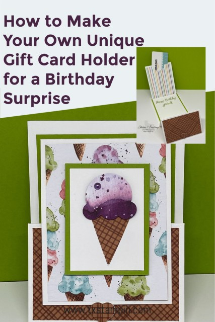 Save this unique gift card holder to your Pinterest board.