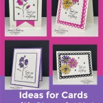 Ideas for Cards with Stampin' Up! Color & Contour