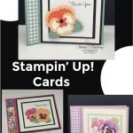 Pansy Petals Stampin' Up! Cards