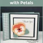 DIY Thank You Cards Bursting with Petals