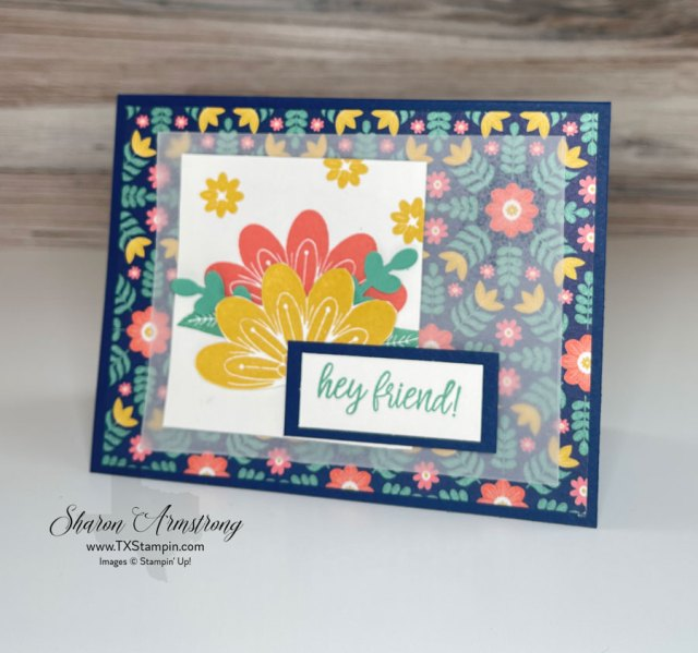 The Stampin' Up! Sweet Symmetry Suite will allow you to make a bunch of summer cards at once.