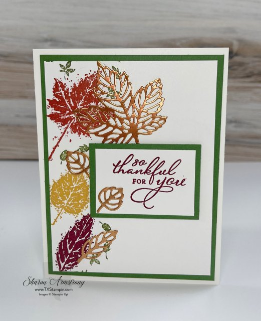 fall-card-with-stamped-leaves-and-die-cut-leaves.