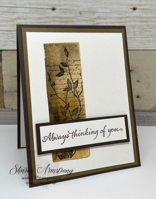 Try this easy acrylic block stamping technique