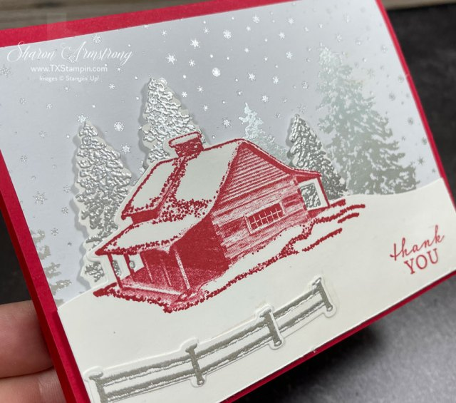 make-a-snow-theme-card-with-silver-embossed-trees