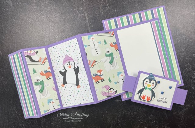 This-is-how-my-accordion-fold-penguin-card-looks-when-open