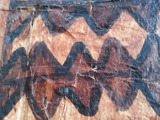 detail of Tapa cloth