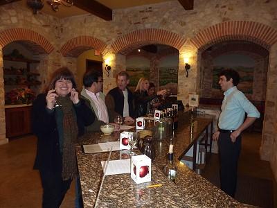 Duchman Family Winery - tasting