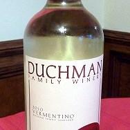 Duchman Family Winery 2010 Vermentino