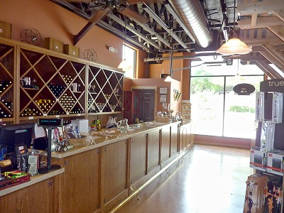 Lakeview Winery - inside