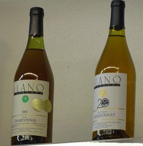 Llano - 1984 Double Gold Chardonnay