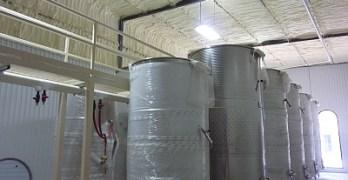 Wedding Oak Winery - tanks