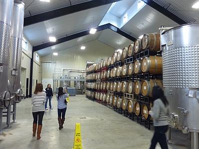 Grape Creek - barrels