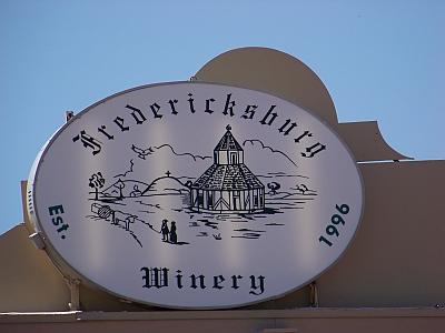 Fredericksburg - sign