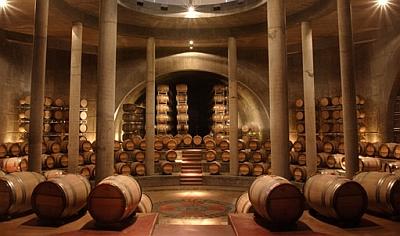 Salentein - barrel room