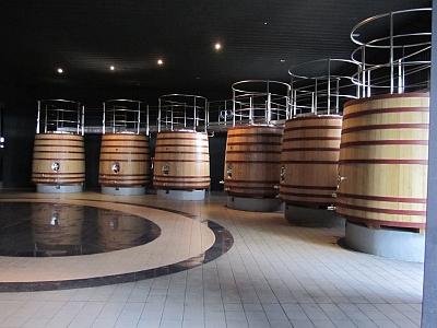 Salentein - large barrels