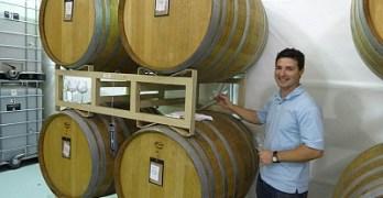 Barrel tasting with Jason Centanni