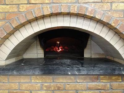Enoteca - wood oven